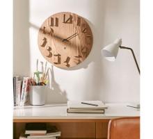 Настенные часы Shadow Umbra Natural