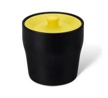 Емкость для хранения чая, кофе или специй Notin PO Selected Черная / Желтая