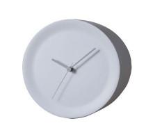 Часы для наружного угла стены Ora Alessi Белые