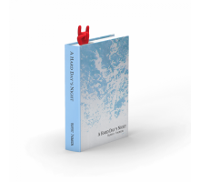 Закладка для книги Rockmark Rocket Design Красная