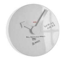 Настенные часы с циферблатом для записей Blank Alessi