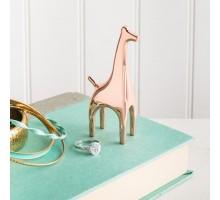 Держатель для колец Anigram Giraffe Umbra Медный