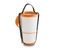 Ланч бокс / Контейнер Lunch Pot Black+Blum Белый / Оранжевый