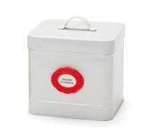 Набор бирок-наклеек La Bella Adhesive Monkey Business Красный