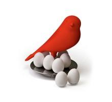 Держатель магнитов Magnetic Egg Sparrow Qualy Красный