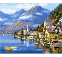 Картина по номерам Альпийская деревня