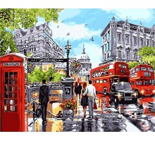 Картина по номерам Прогулка по Лондону