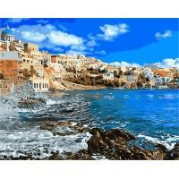Картина по номерам Греция