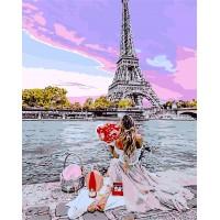 Картина по номерам Свидание в Париже