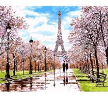 Картина по номерам Апрель в Париже