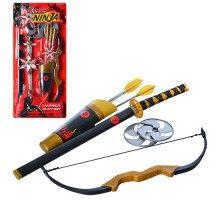Набор ниндзя 709146 меч,лук,стрелы-присоски3шт