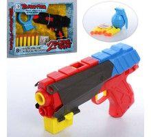 Пистолет RD8810-13,водяные пули,пули-присоски,мишень,2вид