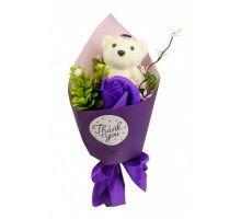 Аксессуары для праздника MK 3323 цветы,букет MK 3323(Violet)