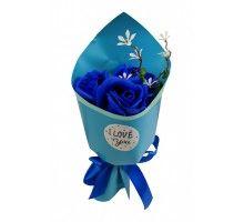Аксессуары для праздника MK 3317 цветы,букет MK 3317(Blue)