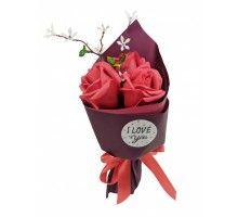 Аксессуары для праздника MK 3317 цветы,букет MK 3317(Red)