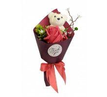 Аксессуары для праздника MK 3323 цветы,букет MK 3323(Red)