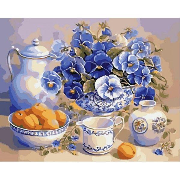 Картина по номерам Летний завтрак