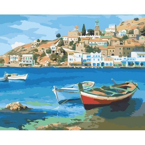 Картина по номерам Средиземноморское лето