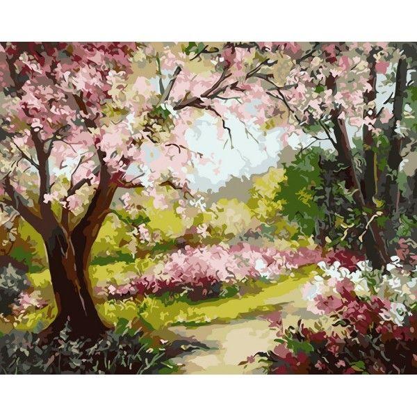 Картина по номерам Яблоневый сад