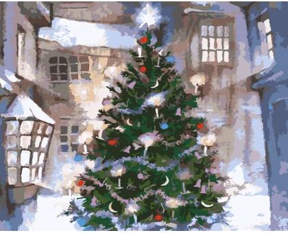 Картина по номерам Новый год