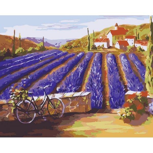 Картина по номерам Лето в Провансе