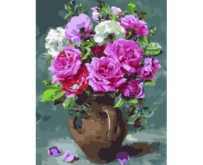 Картина по номерам Восхитительные розы