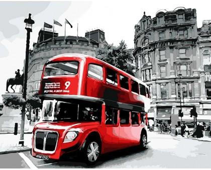 Картина по номерам Лондонский автобус