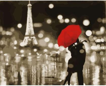 Картина по номерам Романтичный Париж