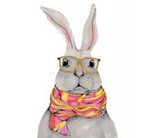 Картина по номерам Деловой кролик