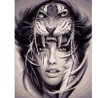 Картина по номерам Амазонка