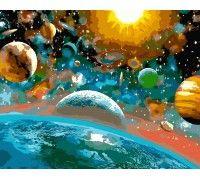 Картина по номерам Музыка вселенной