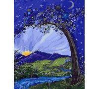 Картина по номерам Сказочная ночь