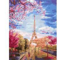 Картина по номерам Весеннее небо Парижа
