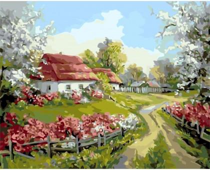 Картина по номерам Родное село