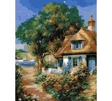 Картина по номерам Милый дом