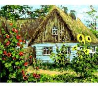 Картина по номерам Украинская хата