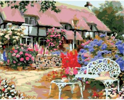 Картина по номерам Загородный дом