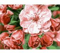 Картина по номерам Бархатные цветы