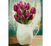 Картина по номерам Букет тюльпанов