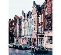 Картина по номерам Вечерний город