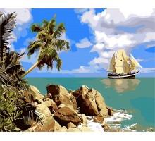 Картина по номерам Пиратский остров