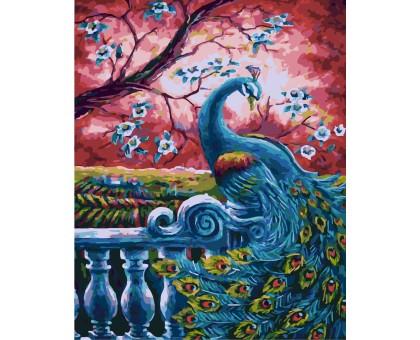 Картина по номерам Райская птица