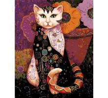 Картина по номерам Мистический кот