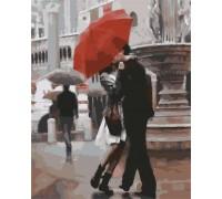 Картина по номерам Городская романтика