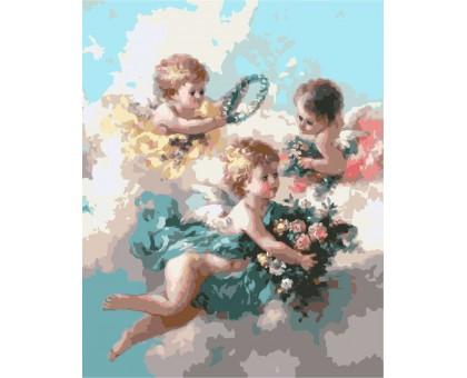 Картина по номерам Ангелы