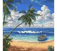 Картина по номерам Утро в раю