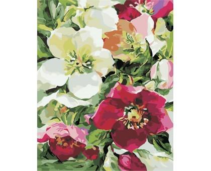 Картина по номерам Цветочное настроение