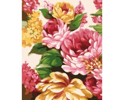 Картина по номерам Живописные цветы