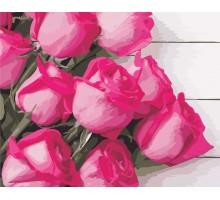 Картина по номерам Благородные розы