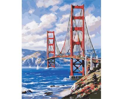 Раскраска по номерам Сан-Франциско
